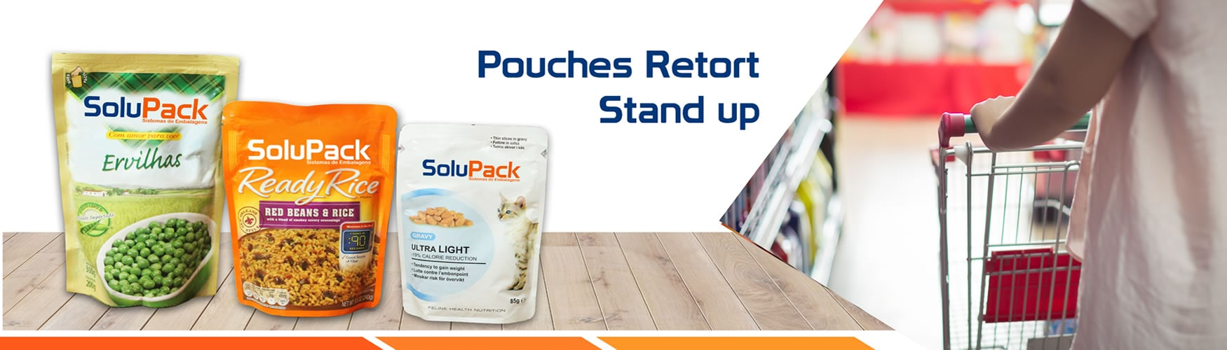Pouches Retort Stand UP